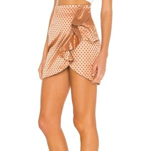 Majorelle skirt from Revolve
